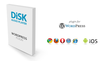 Disk Audio Player For WordPress